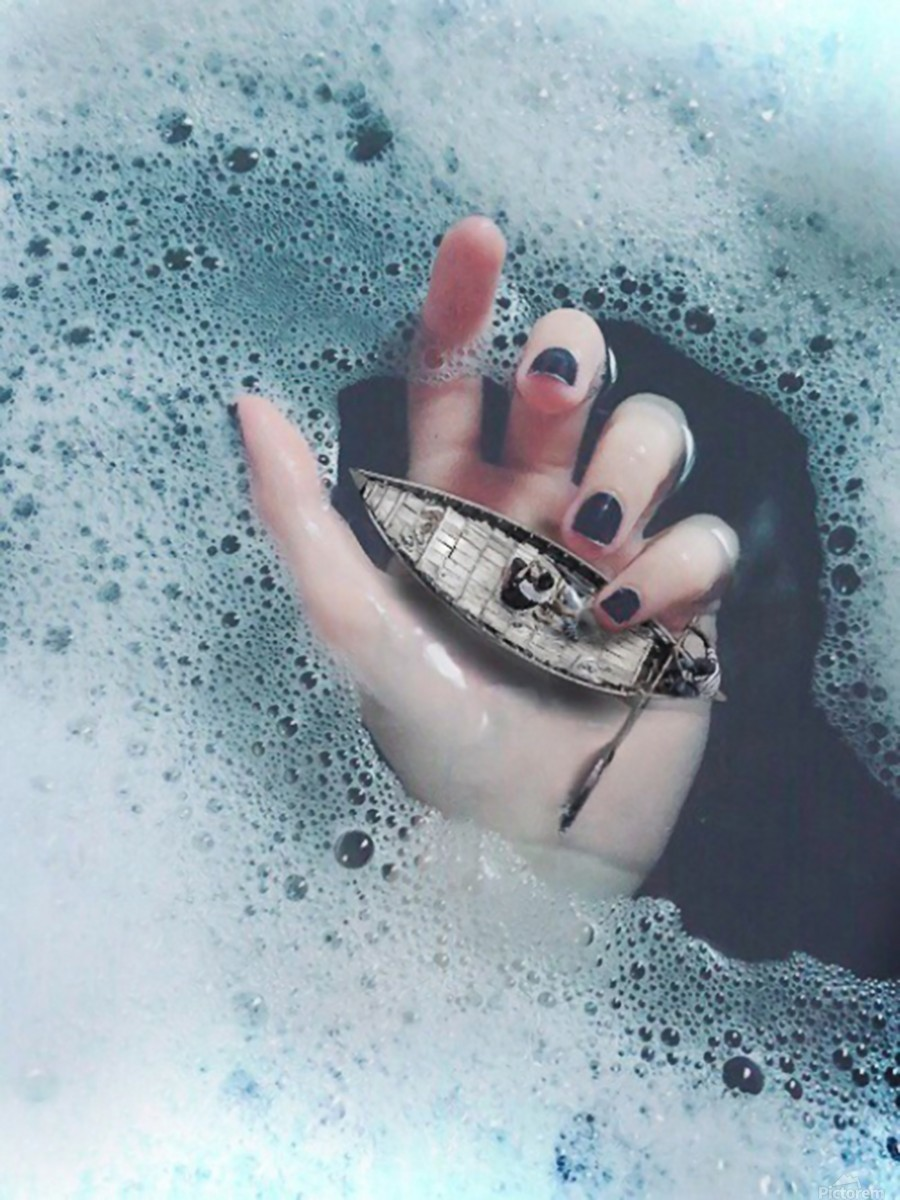 Guide Me In Your Ocean  Print