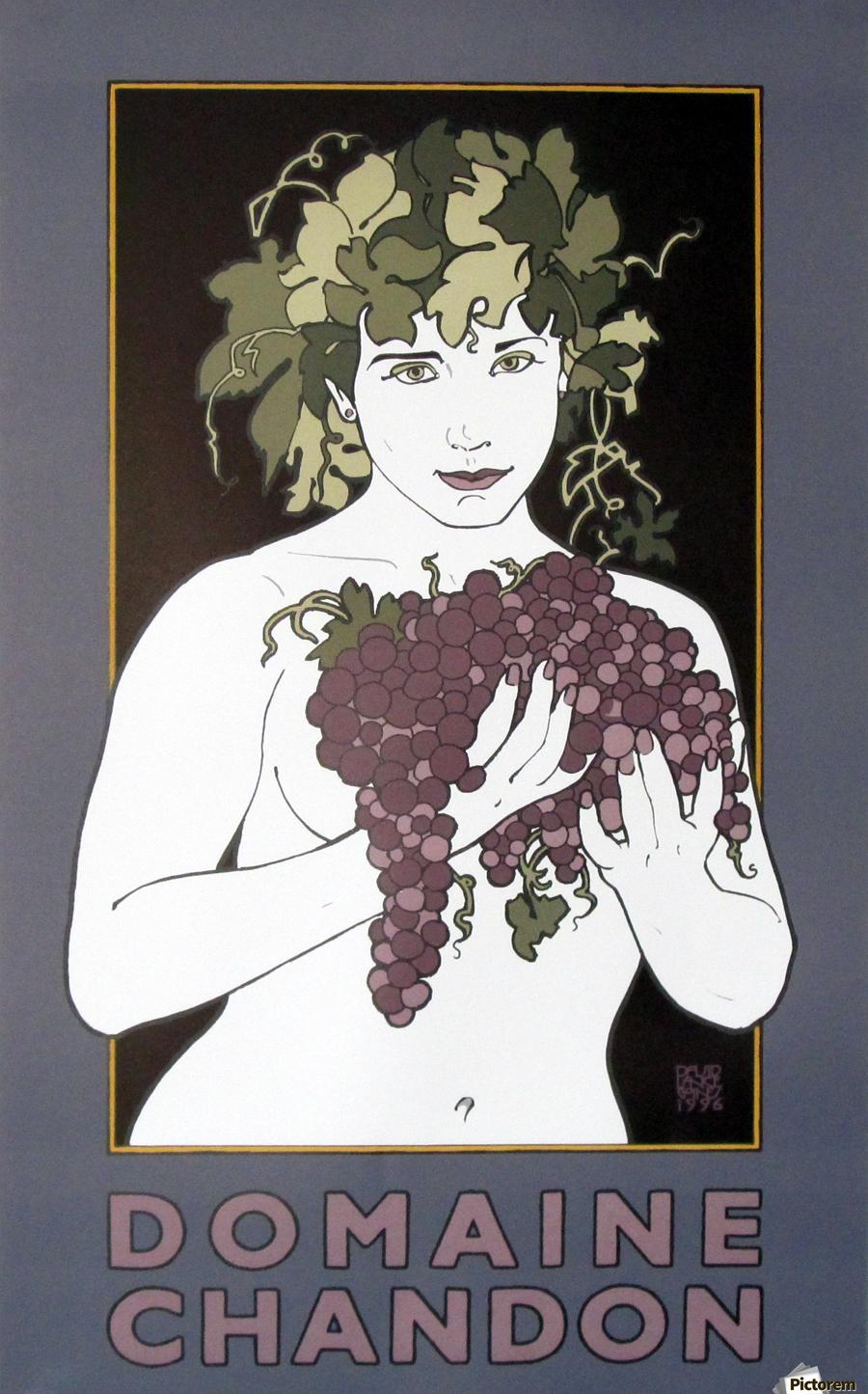 Vintage Posters Wine Acrylic Print Canvas