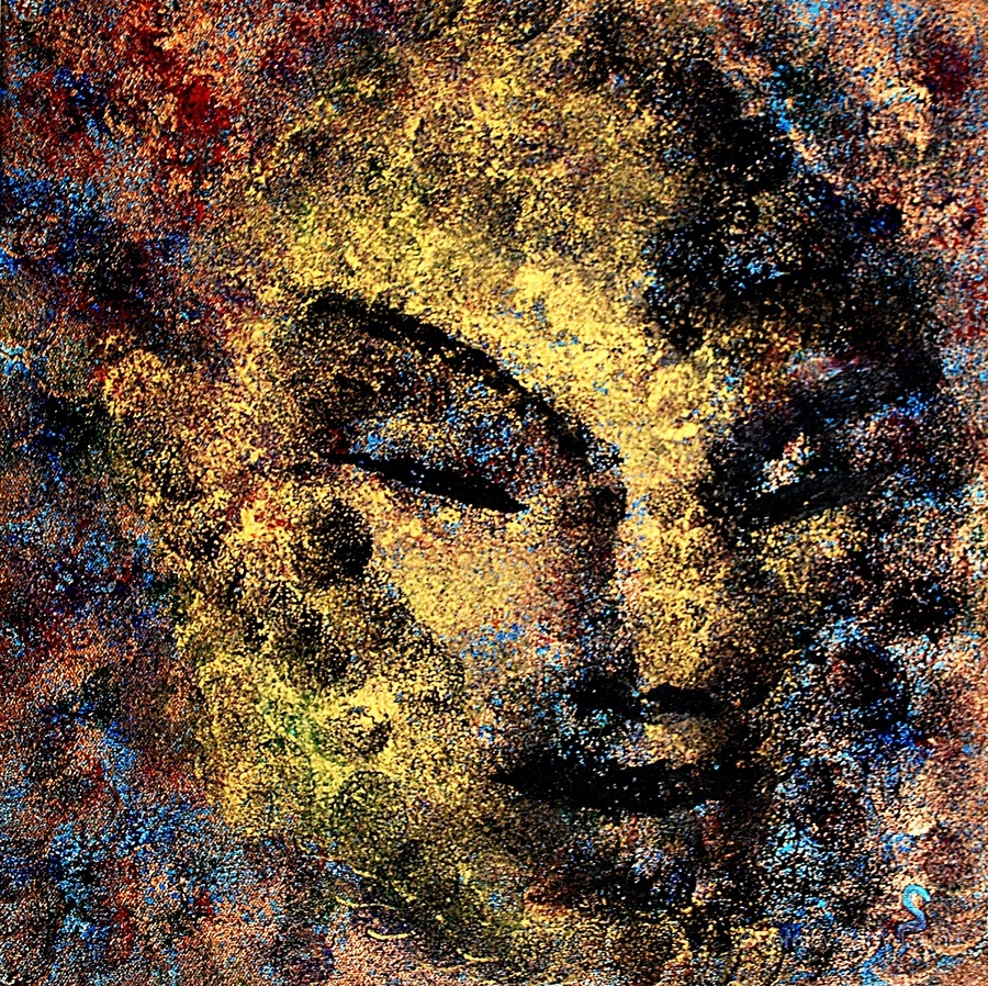 Emerging Buddha  Print