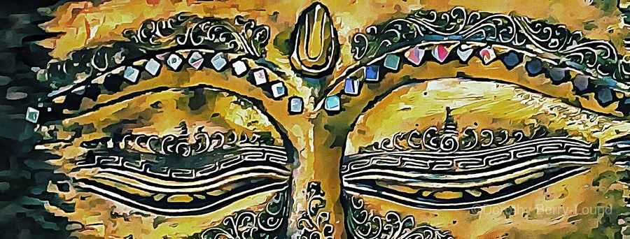 Eyes of Buddha  Print