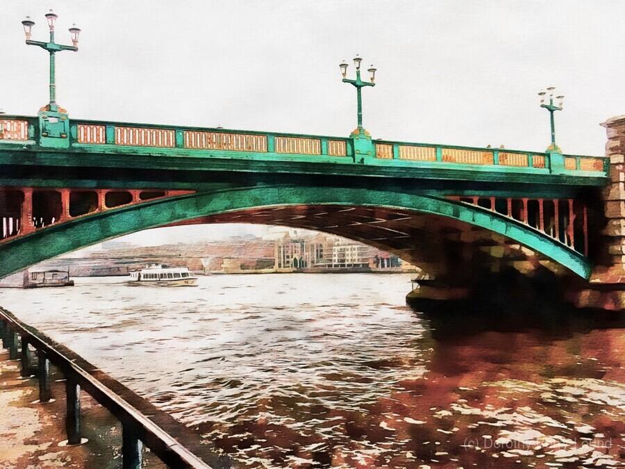 Impressions of Southwark Bridge  Print