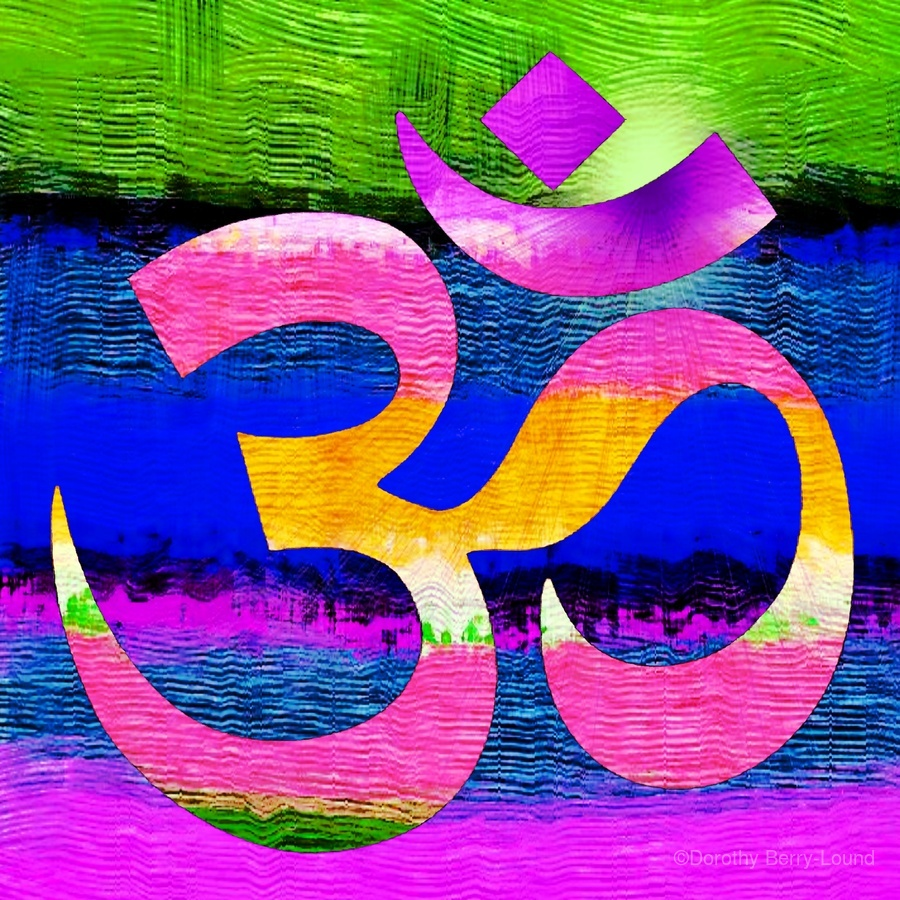 Om Waves  Print