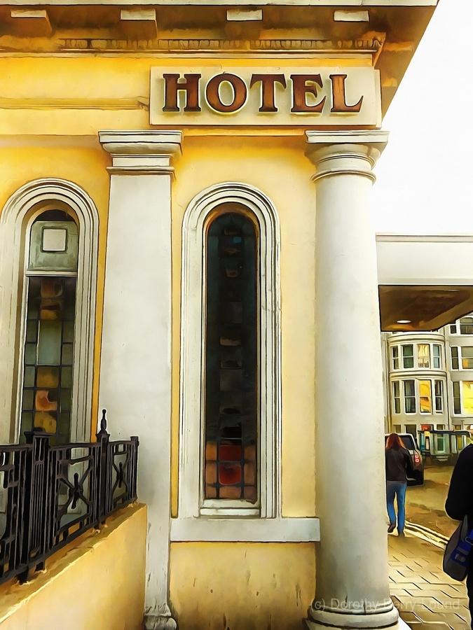 Royal Albion Hotel Brighton Entrance  Print