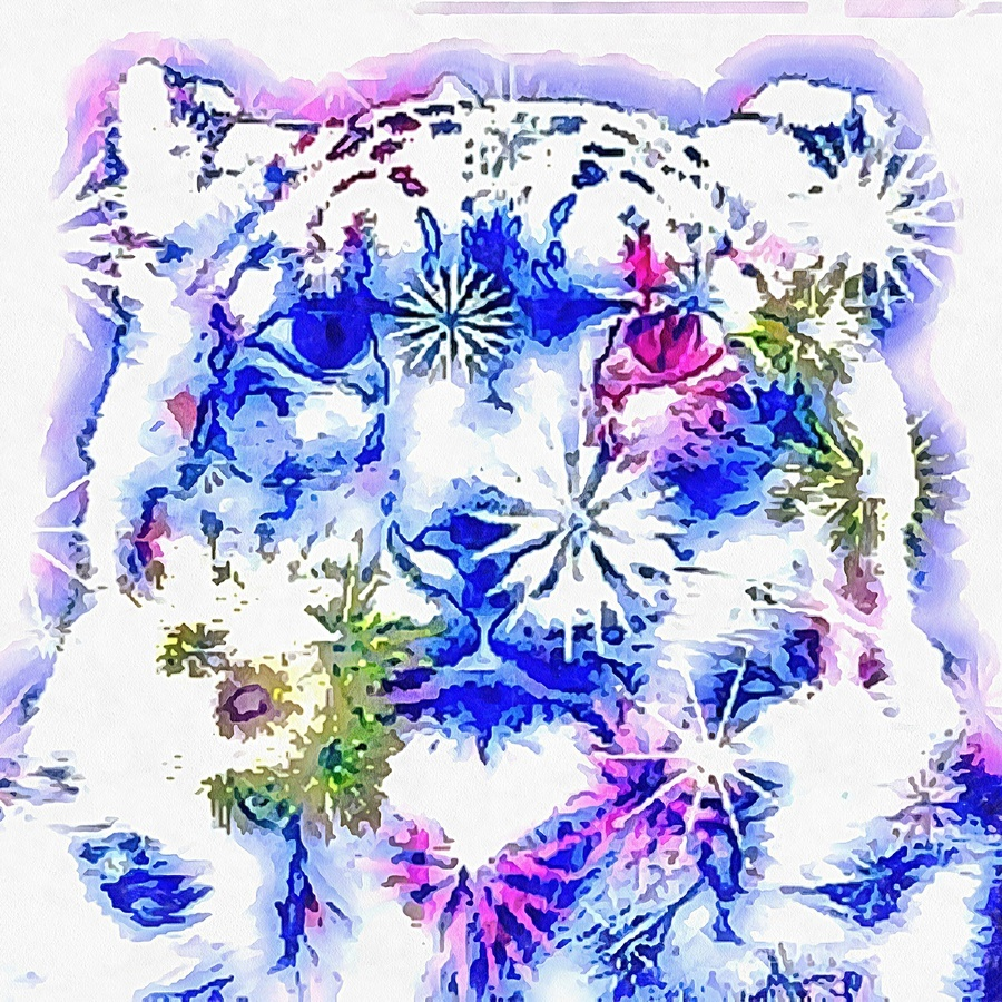 Spirit of the Snow Leopard   Print