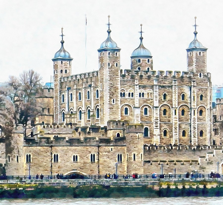 Tower of London 2  Print