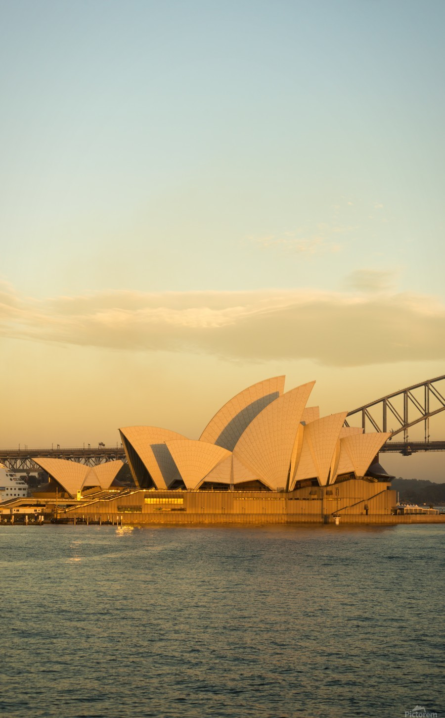 Sydney Opera House in the pre dawn light  Print