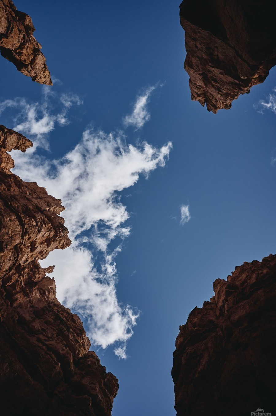 Zion from Below  Print