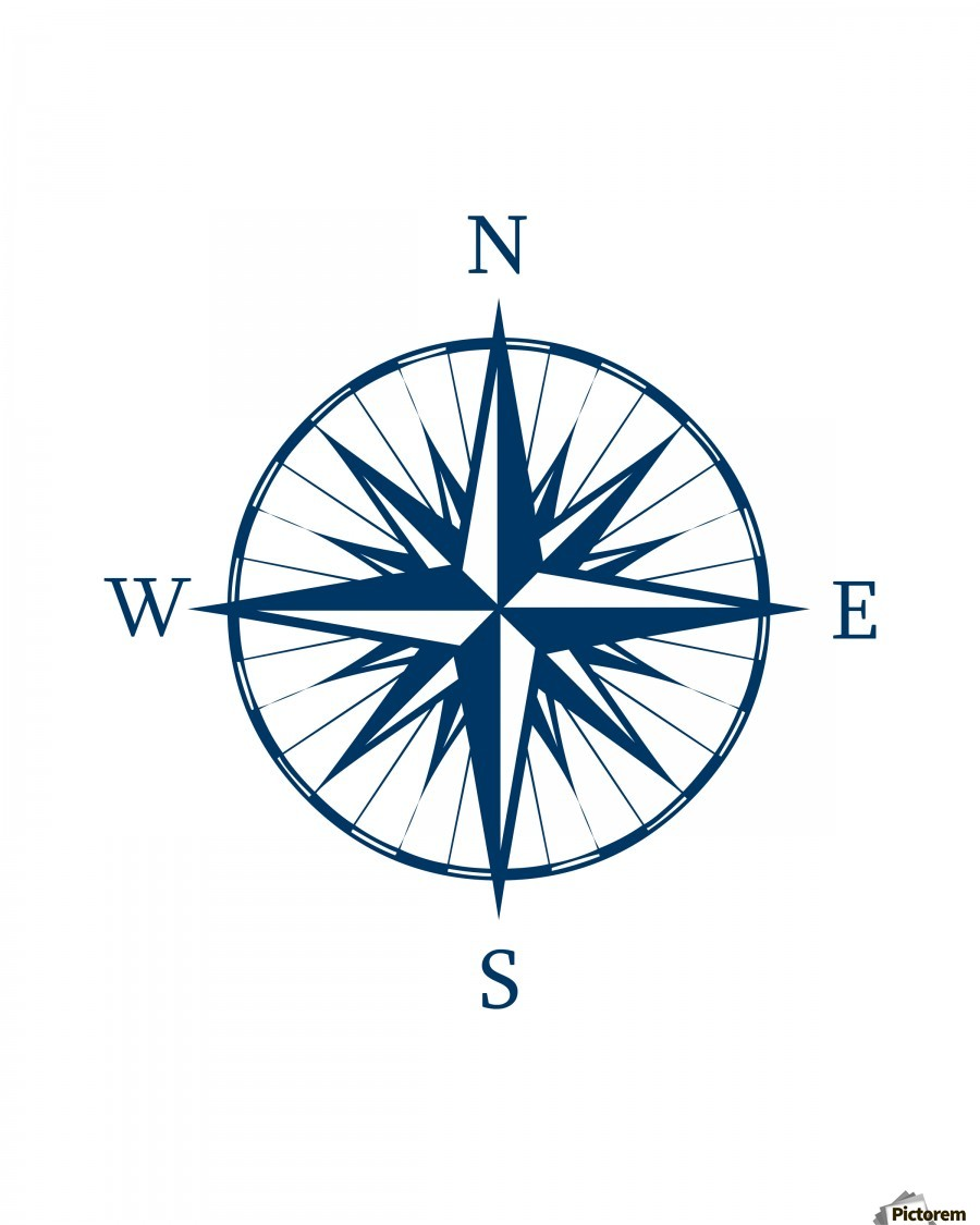 Compass Rose Edit Voros Canvas
