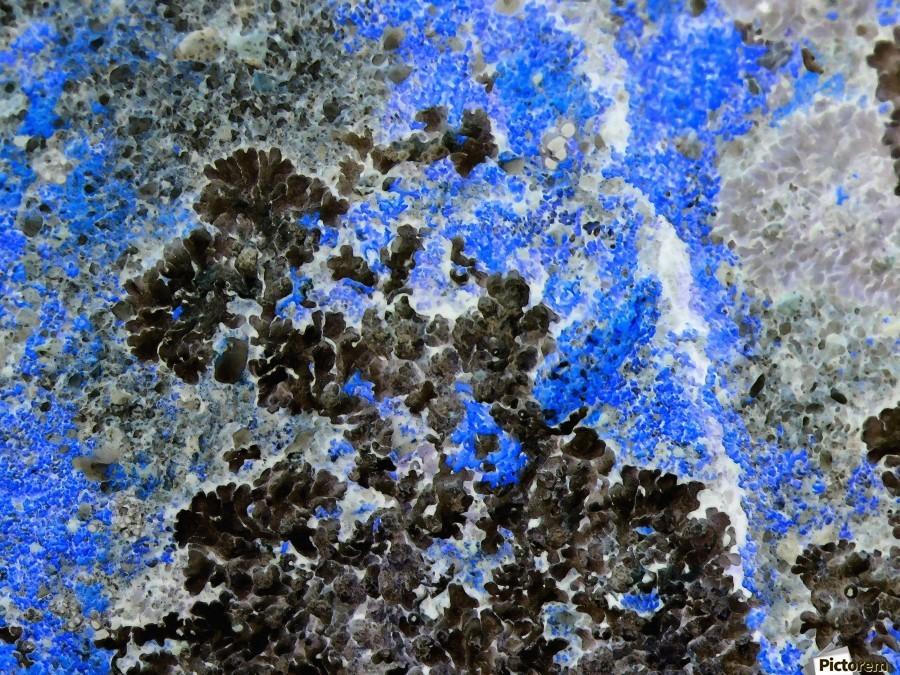 Blue Rock  Print