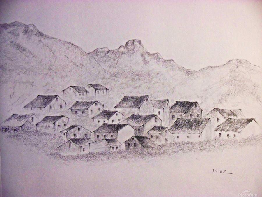 The Hills  Print
