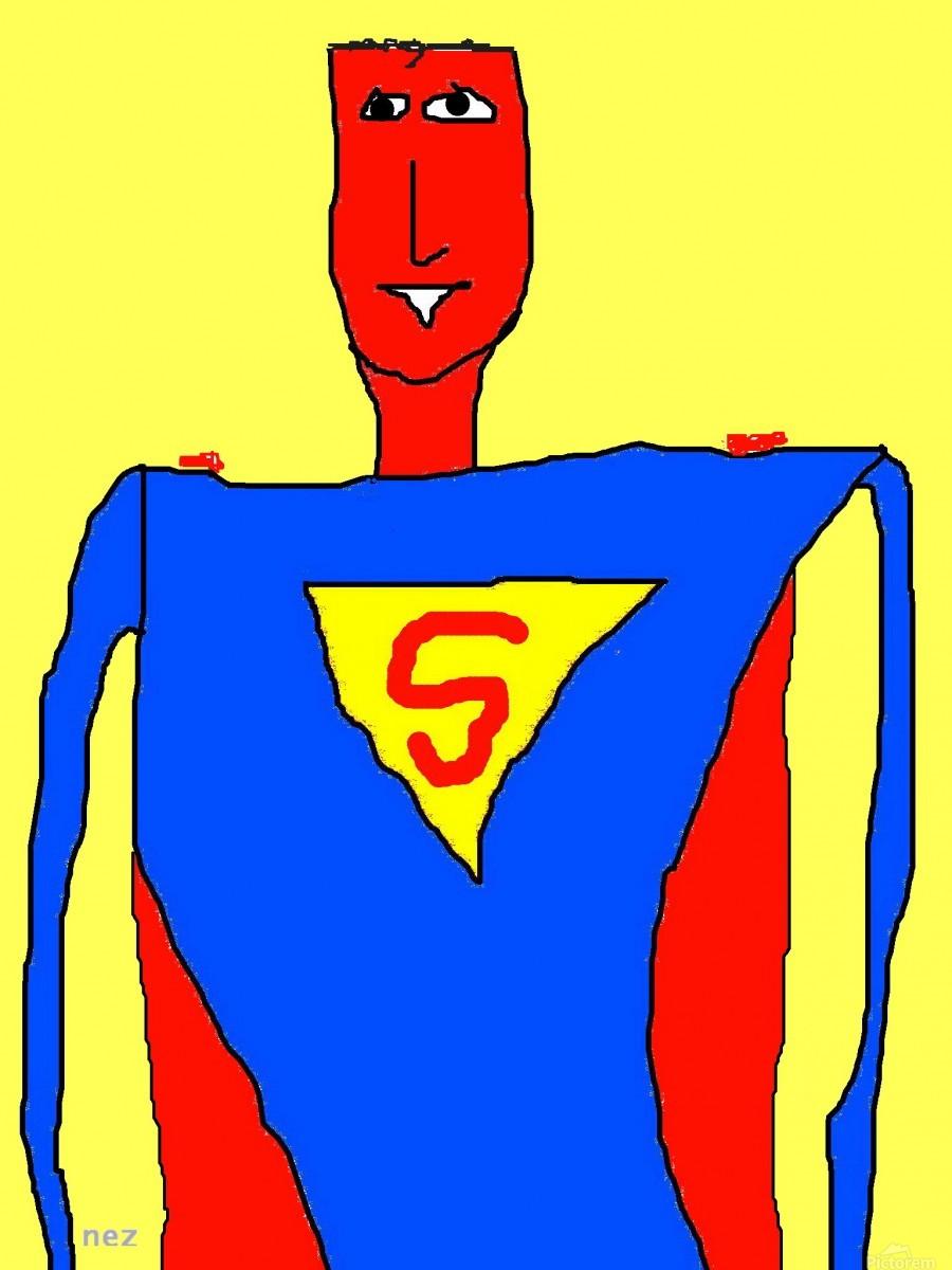 Superman Lite  Print