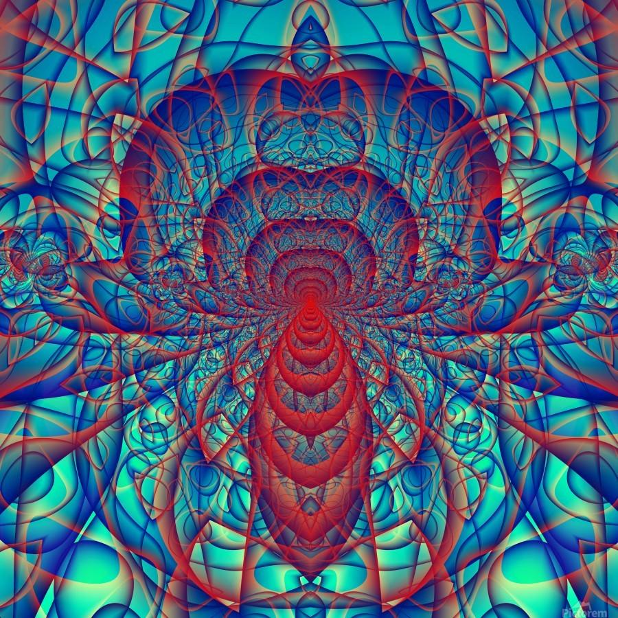 Blue_Spider  Print