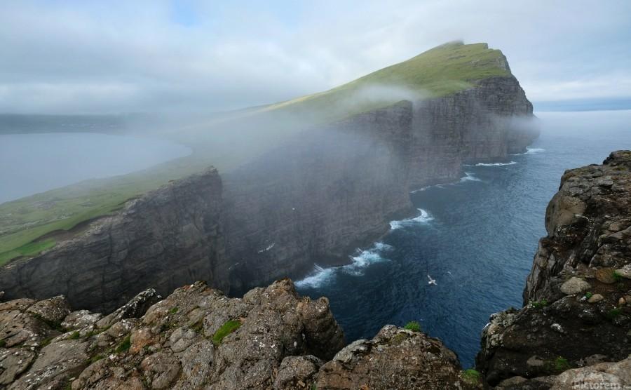 Faroe Cliffs  Print