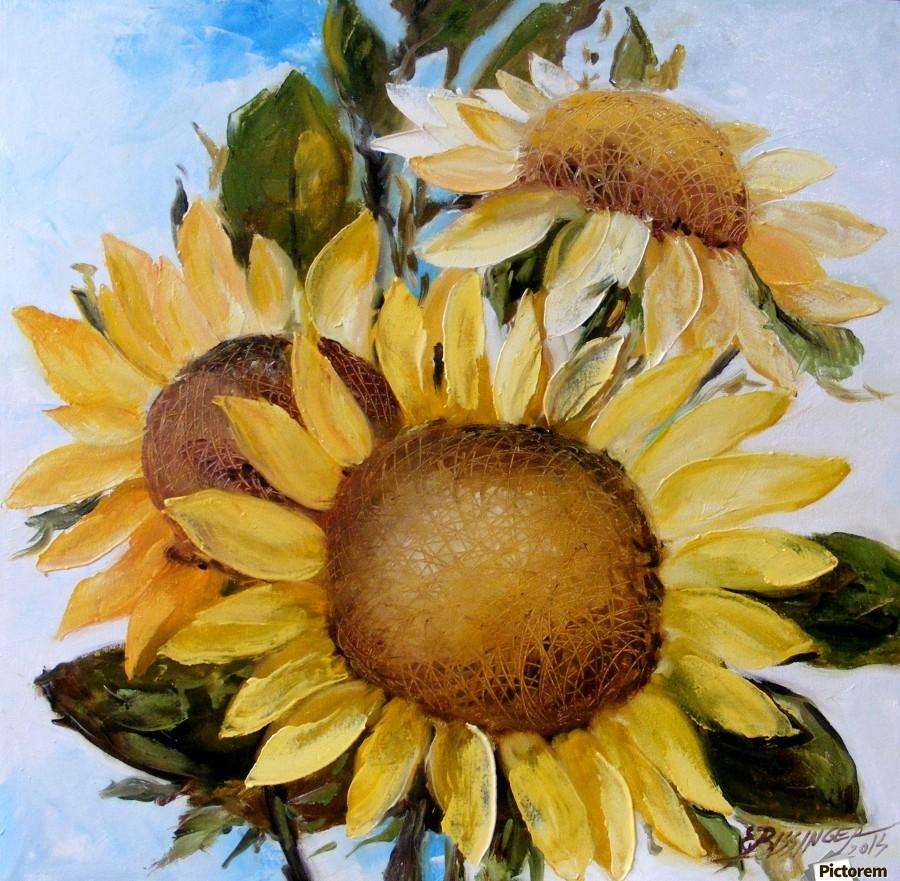 Floarea soarelui  Print