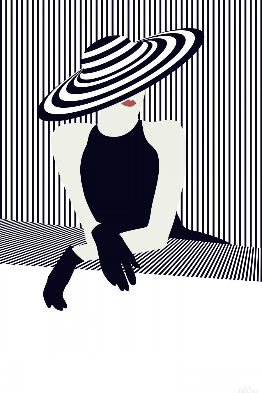 Riviera glamour  Print