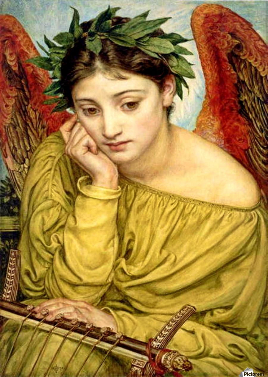 Erato, Muse of Poetry - Edward...