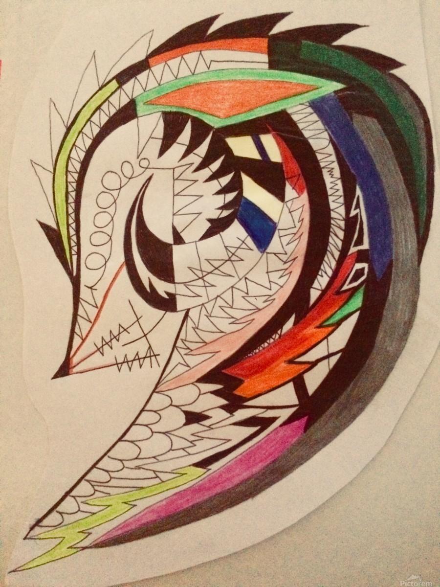 Warrior Wings  Print