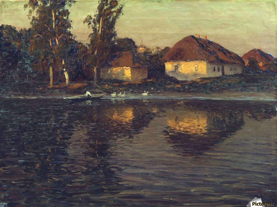 Evening in the Ukraine  Print