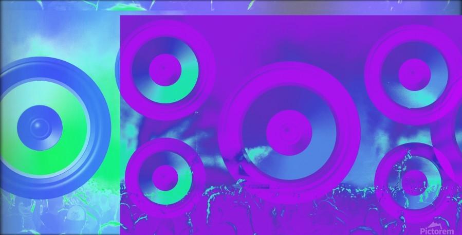 Music is energy  Print