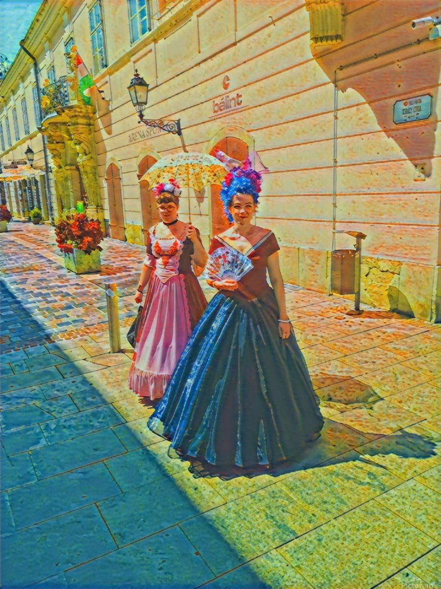 Purple Baroque  Print