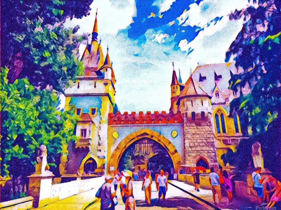 Vajdahunyad Castle  Print