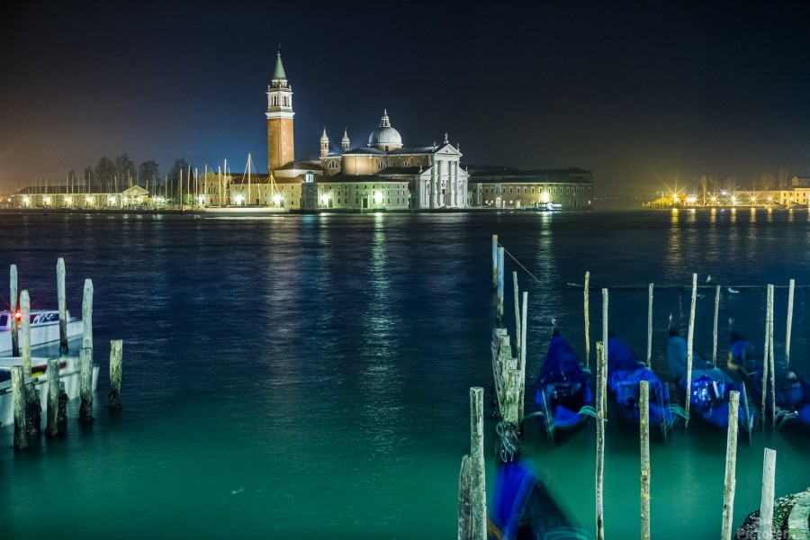 Venice by night  Print