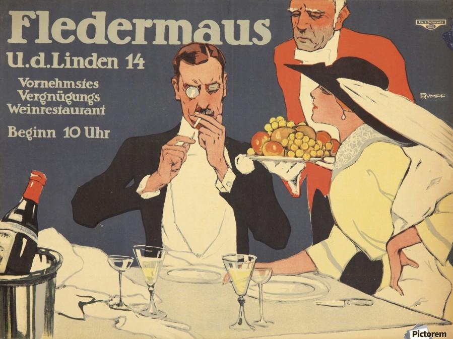 Fledermaus  Print