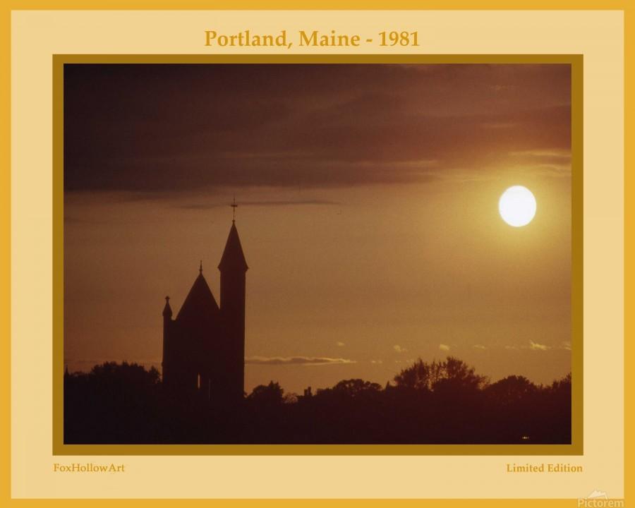 Portland Maine 1981  Print