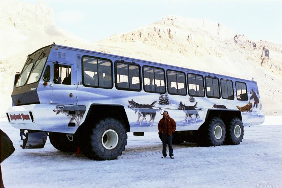 Ice Fields Transportation - Banff Canada  Print