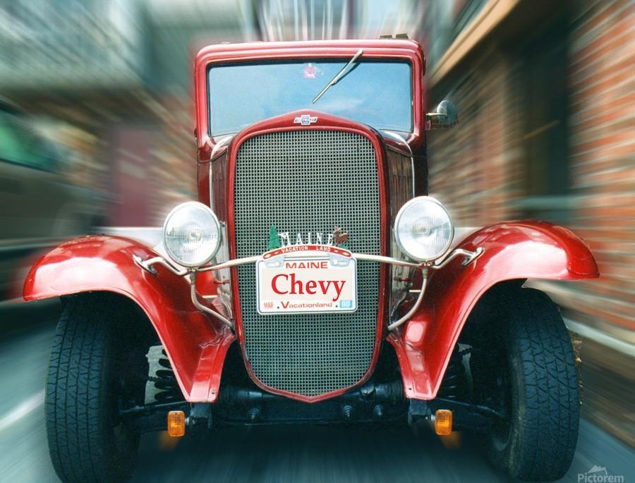 Classic Maine Chevy  Print