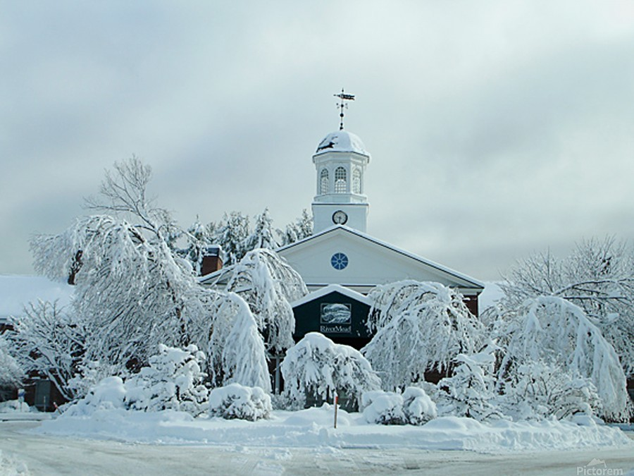 Rivermead After The Storm - Peterborough NH  Print