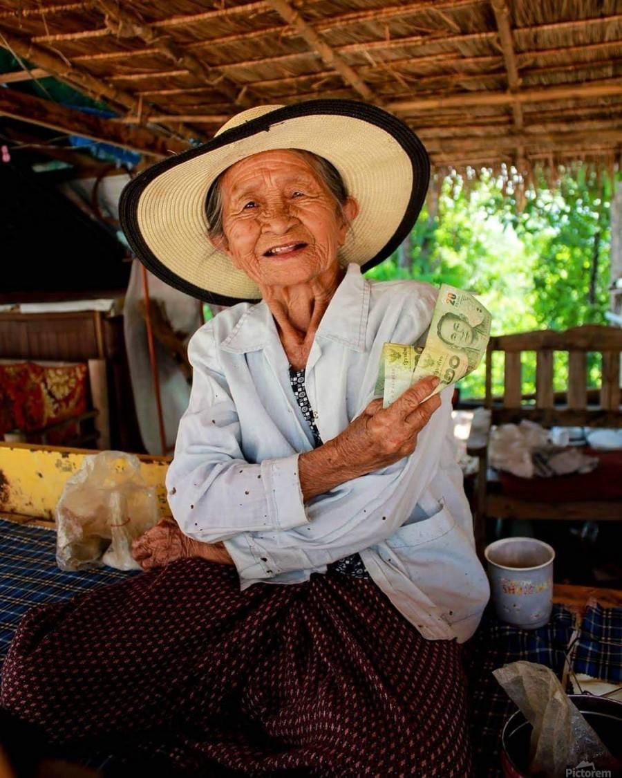 Thai Grandma  Print