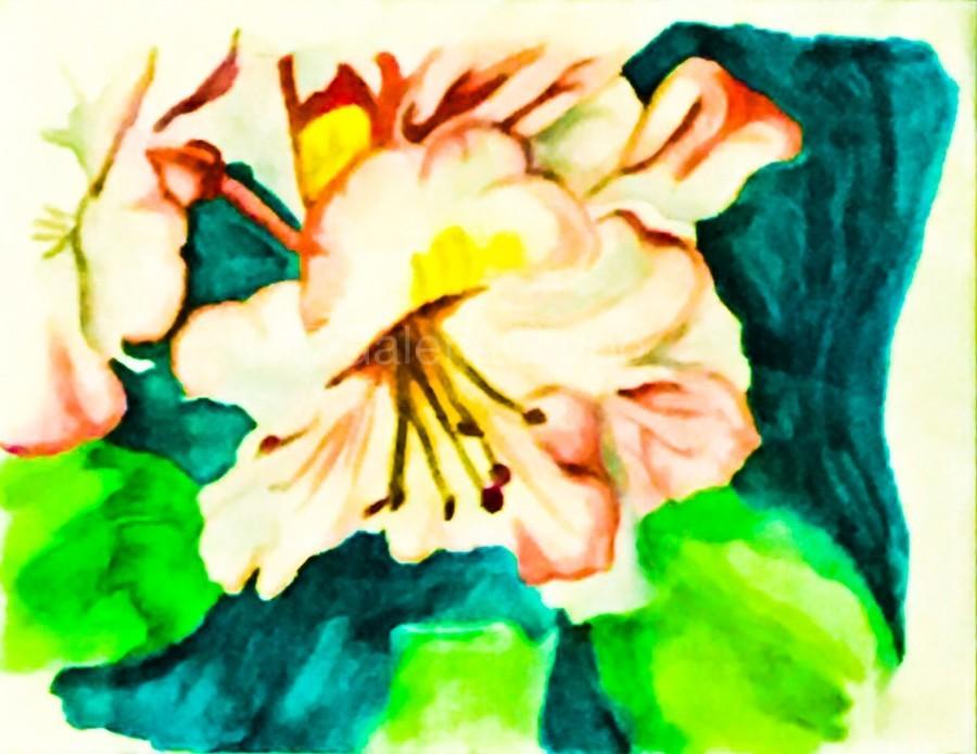 Radiant Flowers   Print