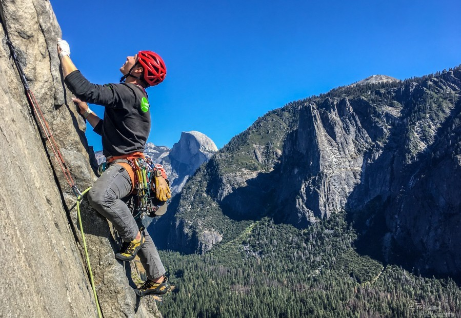 Climber on El Capitan  Print