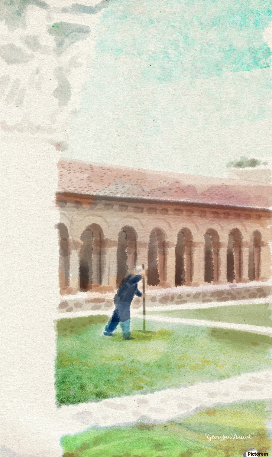 The Cloisters  Print