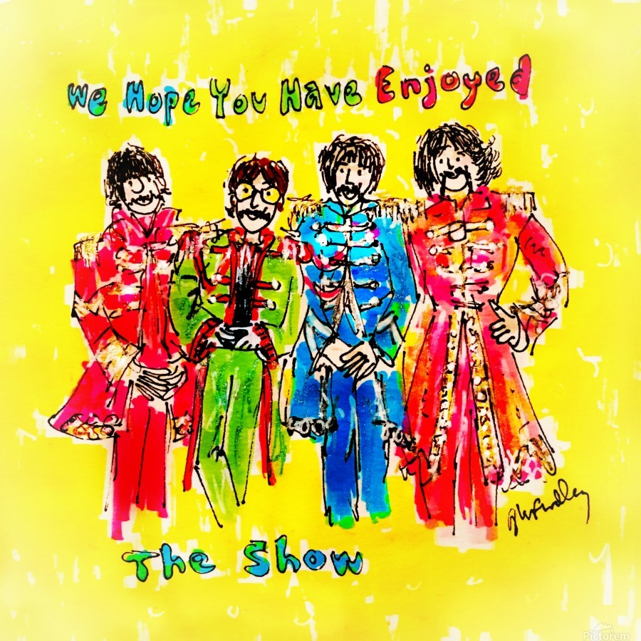 The Beatles - Enjoyed The Show  Print