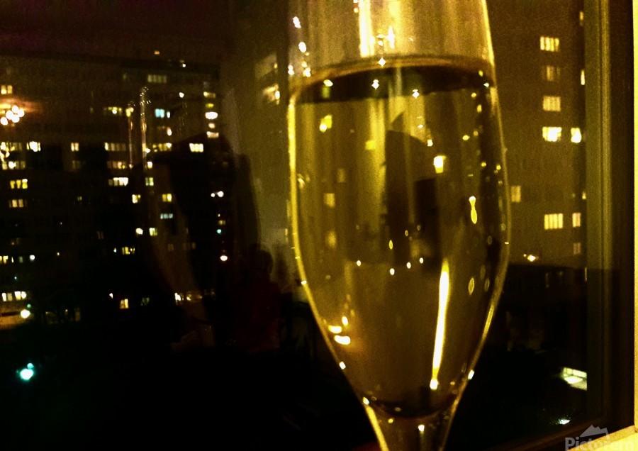 Champagne 4  Print