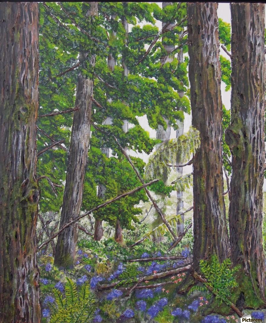 Fairies Forest  Print