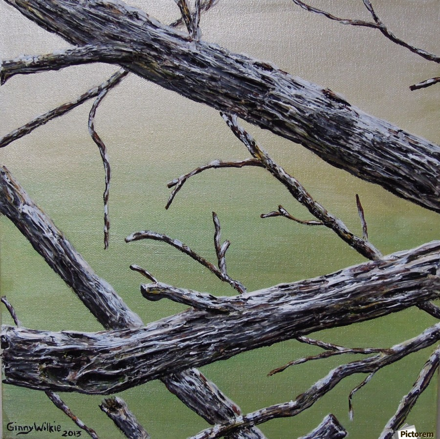 Branches Squared  Print