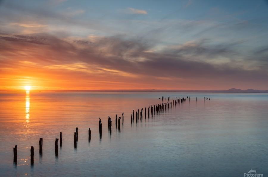 Sunset Pier  Print