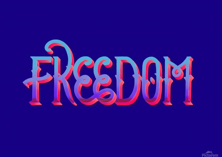 FREEDOM  Print
