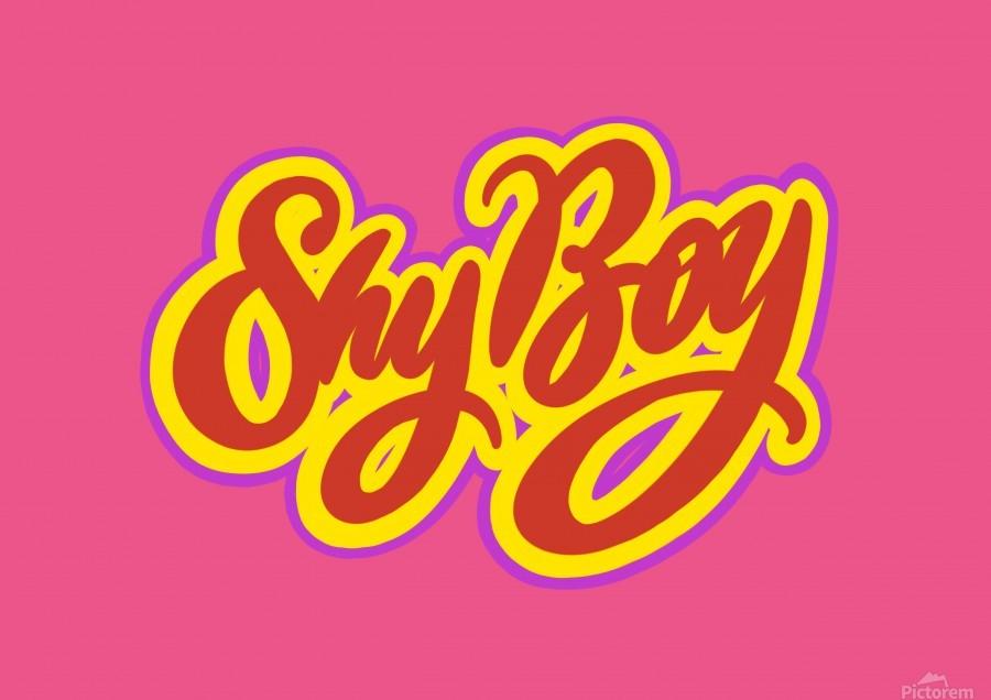 SHY BOY  Print