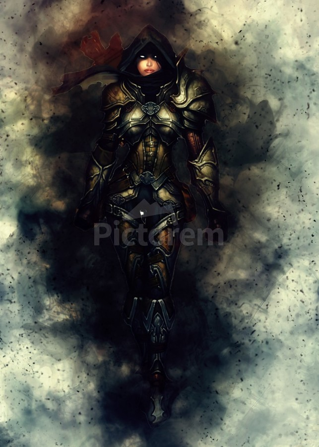 Diablo 3 Demon Hunter Female Gunawan Rb