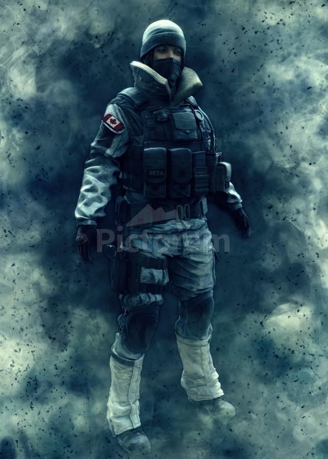 Frost Rainbow Six Siege Gunawan Rb