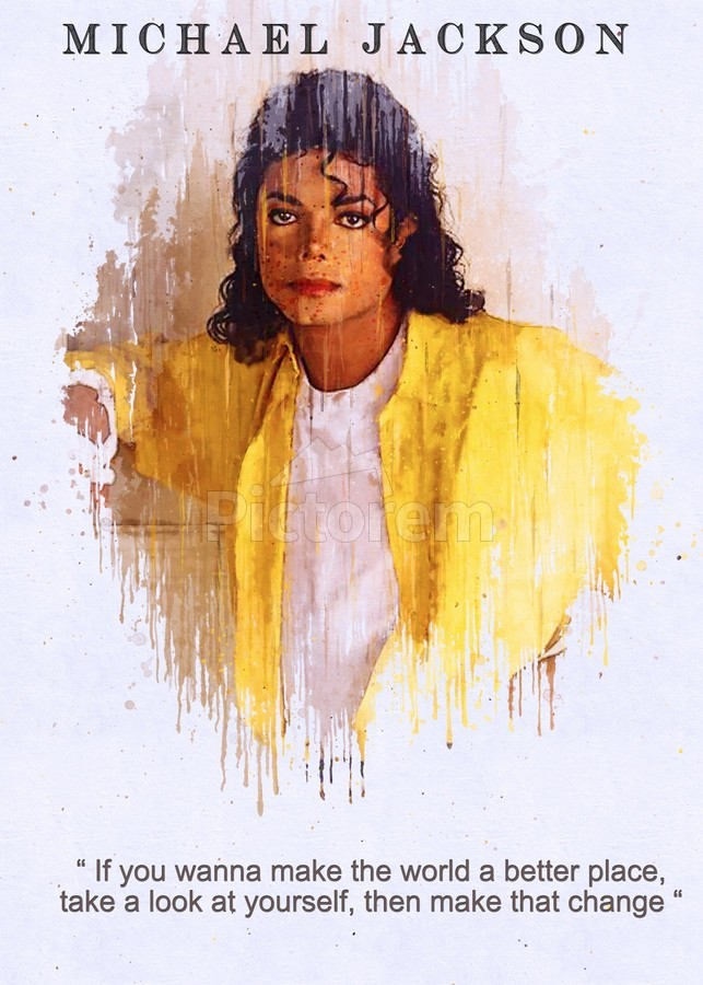 """12/""""x18/""""Michael Jackson 1 HD Canvas prints Painting Home Decor Picture Wall art"""
