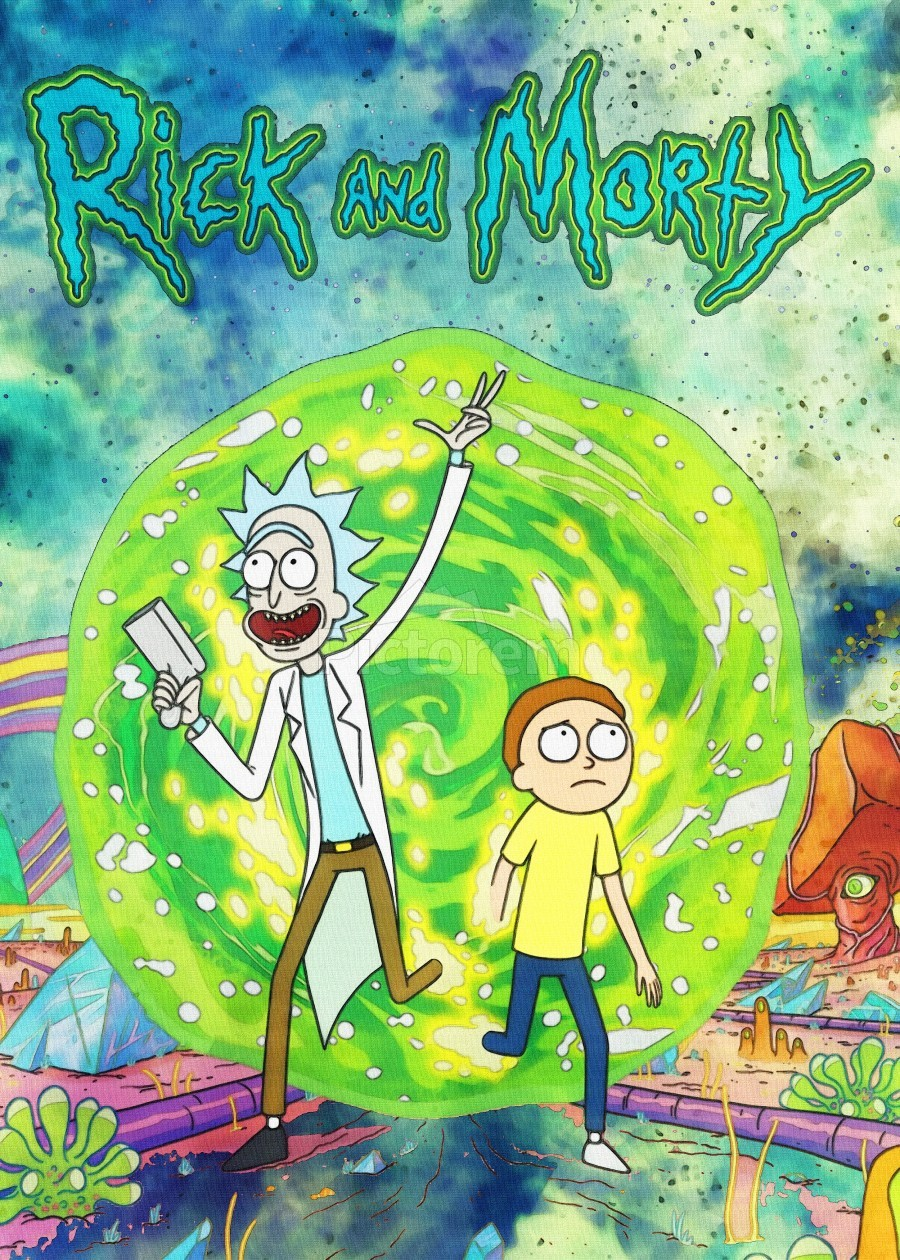 Rick and morty_   Print