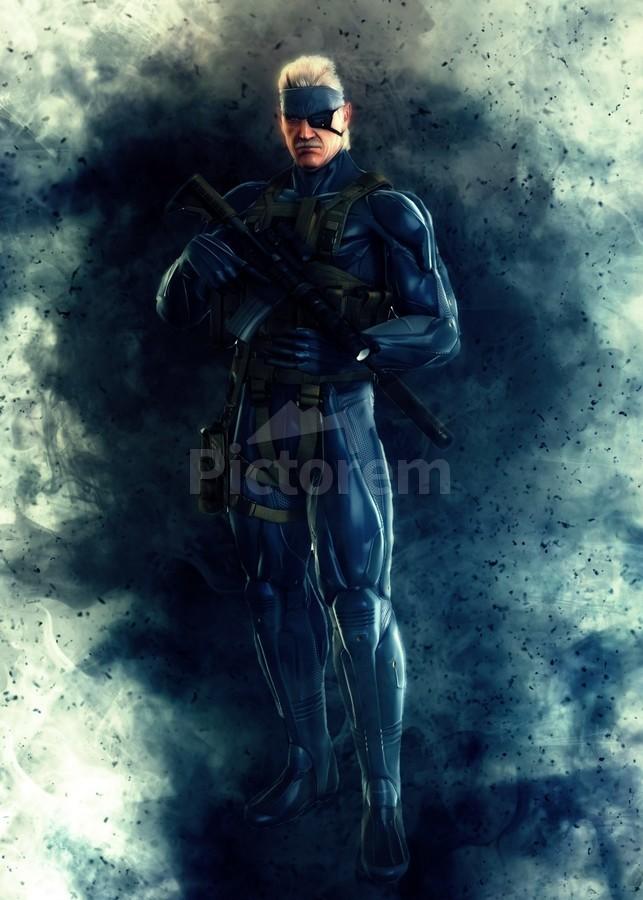 Solid Snake Gunawan Rb Canvas Artwork
