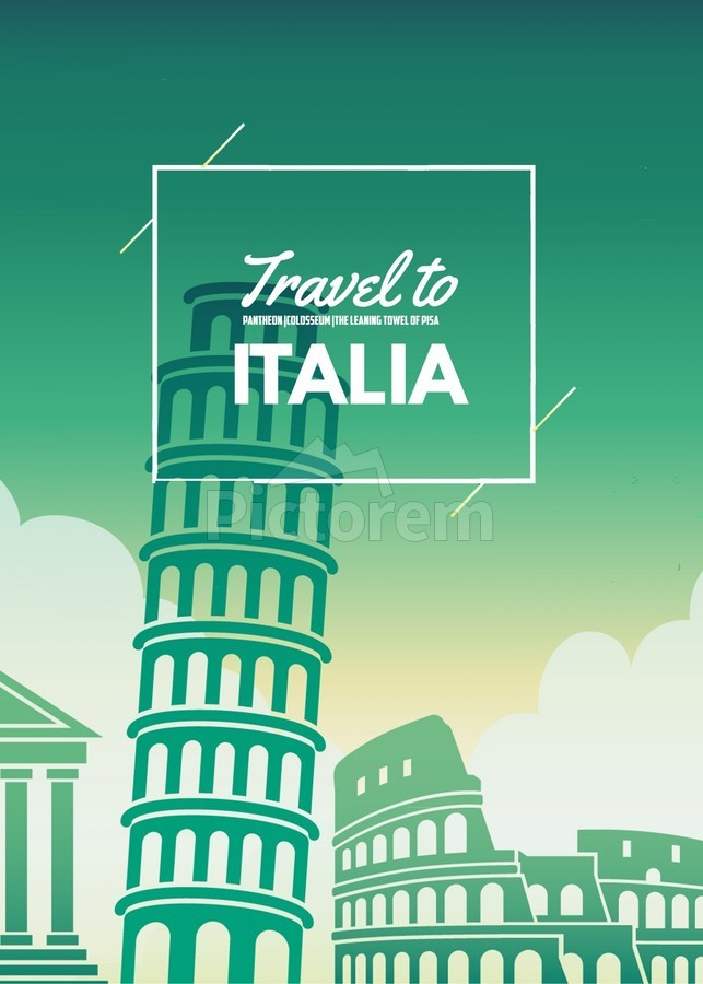 Travel to Italy  Print