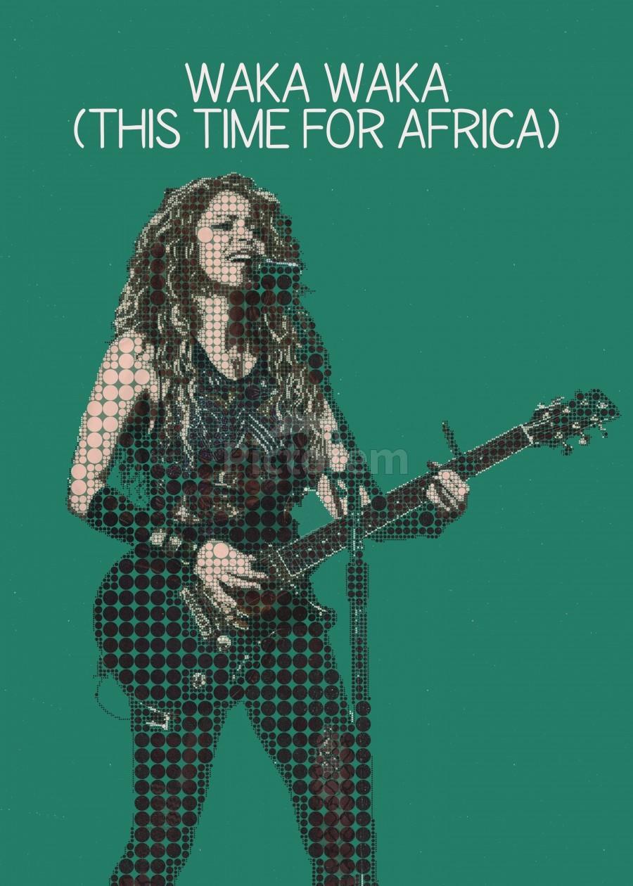 Waka Waka This Time For Africa Shakira Gunawan Rb