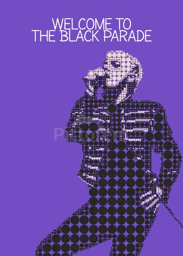 Welcome To The Black Parade   Gerard Way  Print